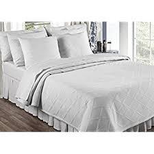 Coverlet Matelasse Amazon Com English Rose Matelasse Coverlet Full Queen White Home