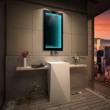 Schlafzimmer Spiegel Mit Beleuchtung Badspiegel Mit Led 3d Beleuchtung Tieffeneffekt Badezimmerspiegel