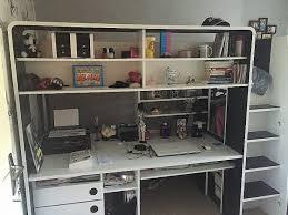 bureau mezzanine bureau lit mezzanine 1 place avec bureau luxury lit mezzanine en