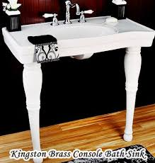 kingston brass console sink console sinks for small bathrooms hometiens