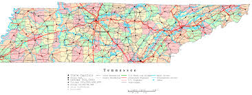 Cleveland Tennessee Map by Tennessee Map Of Towns California Map