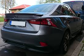 2014 lexus is350 jdm picture request aftermarket rear spoilers on the 3is clublexus