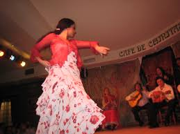 photo flamenco dancer in madrid u2014 dots connected