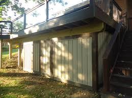 exceptional shed under deck yard garden pinterest deck