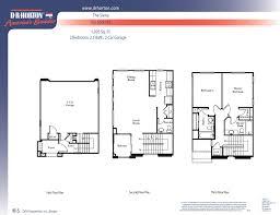 Dr Horton Floor Plans by Siena Via Sorento Gilbert Arizona D R Horton