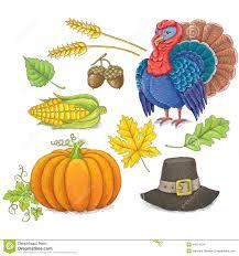 thanksgiving symbols stock vector illustration of vegetables 44674734
