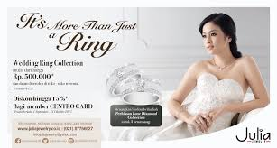 harga wedding ring jewelry special offer centro department store