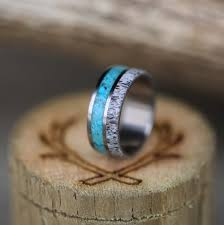 sk wedding band turquoise rings staghead designs