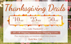 thanksgiving deals with 50