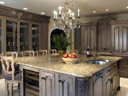Grey Kitchen Cabinets With Granite Countertops by Elegant Interior And Furniture Layouts Pictures Granite