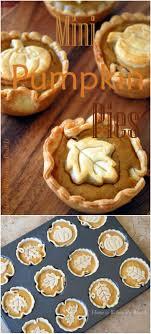 20 simple muffin tin desserts you mini pumpkin pies mini