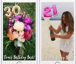 30th birthday flowers and balloons 21st birthday snapchat geofilter mylar balloon snapchat on