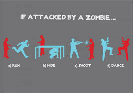 Meme Zombie - if attacked by a zombie zombies know your meme