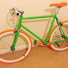 peugeot bike green sendusyourbike saul goodsir u0027s green white orange fixie the