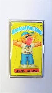 Fancy Business Card Holder Joe Blow Gpk Metal Business Card Holder Garbage Pail Kids