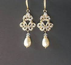 gold bridal earrings chandelier wedding earrings gold gold bridal earrings chandelier watford