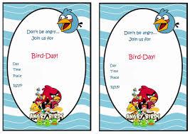 printable angry birds invitations printable invitations