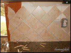 Harlequin Backsplash - ceramic harlequin backsplash tile kitchen design ideas pinterest