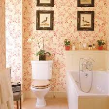 wallpaper for bathroom ideas modern bathrooms designs bathroom wallpaper pink flowers