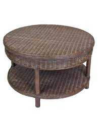 round wicker end table rattan coffee table round coffee table thetempleapp