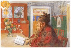karin reading 1904 carl larsson wikiart org