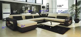 modern sofa ultra modern cream and black leather sectional sofa cp 2200