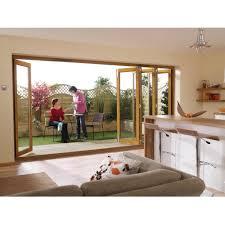 Wooden Bifold Patio Doors by Oak Bifold External Doors Timber Bifold Doors External Fully Open