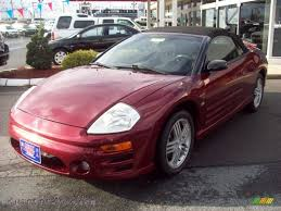 eclipse mitsubishi 2003 2003 mitsubishi eclipse spyder gt in saronno red 168160 autos