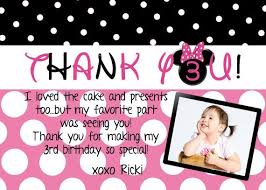 minnie mouse thank you cards minnie mouse thank you card you print custom by 5280papercrafts