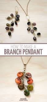 tutorial necklace making images Branch necklace wire wrapped jewelry tutorial moms and crafters jpg