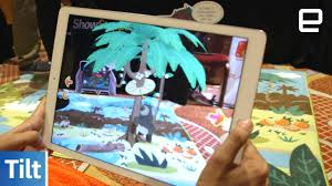 Kids Jungle Rug by Tilt Tells Augmented Reality Stories To Kids With A Rug And Duvet