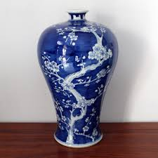 Hand Painted Chinese Vase Reproduction Chinese Vases Antique Qing Reproduction Chinese