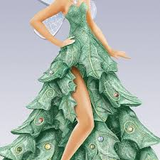 Disney Tinkerbell Christmas Tree Topper by Amazon Com Bradford Exchange Disney Tinker Bell Christmas