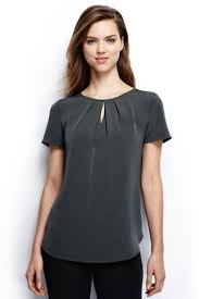 lands end blouses s sleeve keyhole blouse from lands end