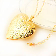 s day locket heart photo locket necklace fashion jewelry s day