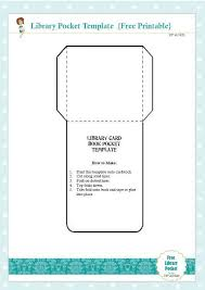library cards and pockets free library card book pocket template printable tip junkie