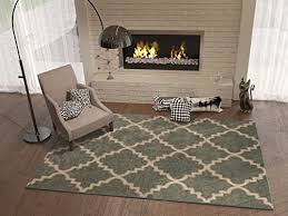 Dark Color Rug Dining Room Amazoncom - Carpet in dining room