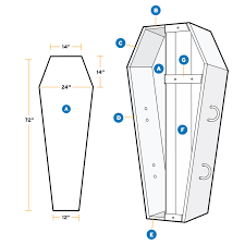 how to build a coffin coffin dimensions