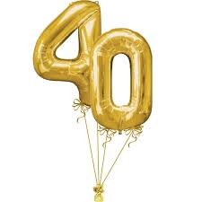 helium filled balloons delivered 40th large birthday numbers balloons delivered helium filled