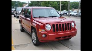 red jeep liberty 2007 2007 jeep patriot sport inferno red crystal pearlcoat