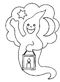 coloriage fantomes page 2 à colorier allofamille