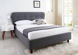 Upholstered Sleigh Bed King Bed Frames Upholstered Bed Frame Queen King Upholstered Sleigh