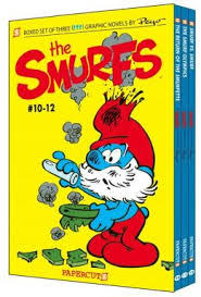 graphic smurfs fictional children u0027s series