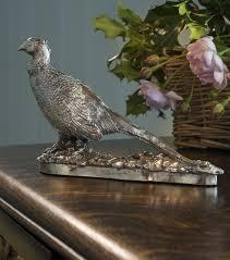 silver pheasant ornaments