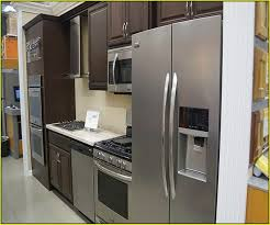 Costco Kitchen Cabinets Sale by Kitchen Appliance Packages Costco Bertazzoni 5 Piece Stainless