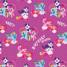 my pony wrapping paper my pony birthday gift wrap my pony poppyseed