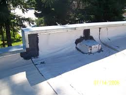 Flat Roof Edge Prep On A Flat Roof Roofing Contractor Talk