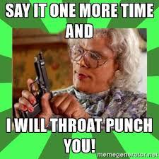 Throat Punch Meme - eaton rapids joe fake news friday throat punch will instantly