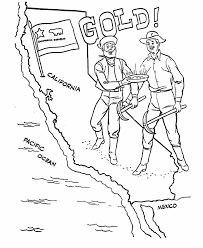 Usa Coloring Pages Usa Printables The California Gold Rush Us History Coloring Pages by Usa Coloring Pages