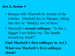 themes of macbeth act 2 scene 1 a powerpoint summary ppt video online download